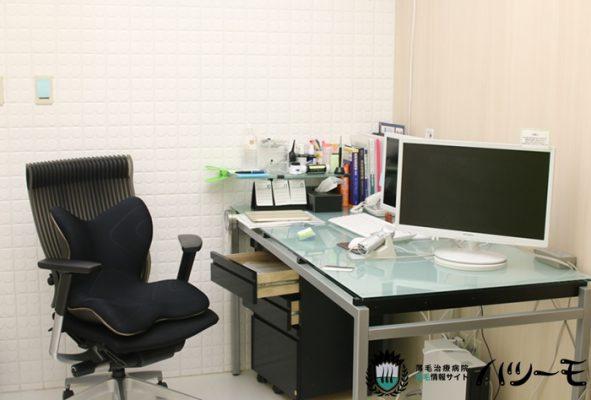 AACクリニック名古屋 診察室