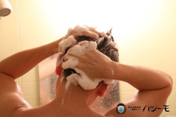 初期脱毛は、シャワーで抜け毛を感じる人は